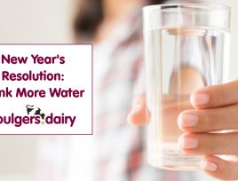 WHY DRINKING MORE WATER SHOULD BE YOUR NEW YEAR'S RESOLUTION